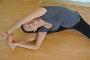 Yoga instructor Shiho